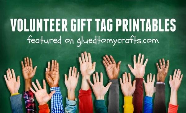 PTA Volunteer Appreciation Gift Tag Collection