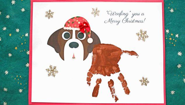 Woofing You A Merry Christmas - Santa Paws Keepsake