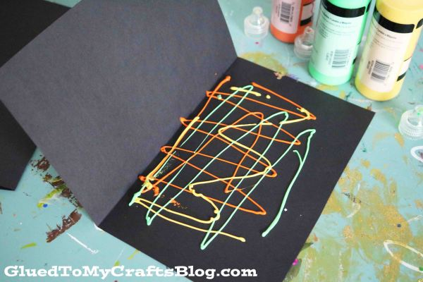 Paint Splat New Year's Eve City Skyline - Kid Craft