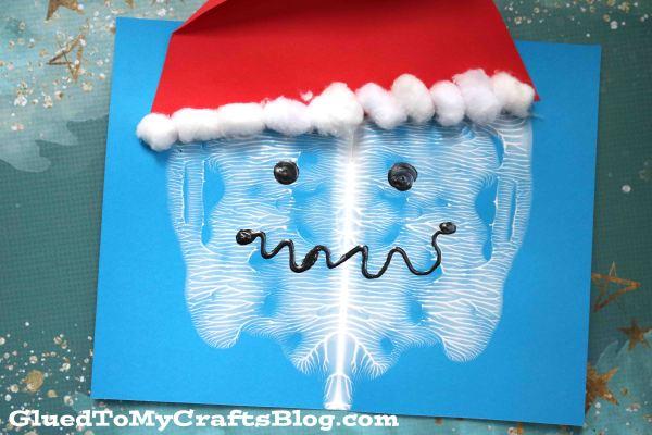 Paint Splat Yeti - Kid Craft