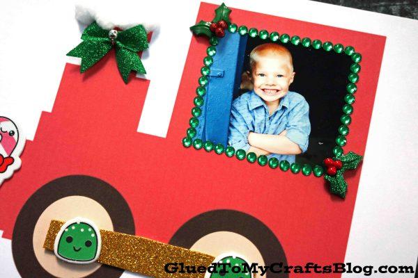 Paper Christmas Train Keepsake