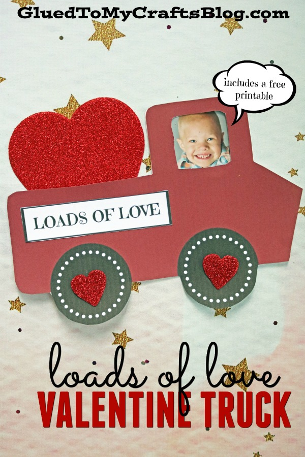 Loads of Love - Personalized Valentine Truck