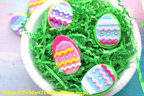 Paper Bowl Easter Egg Hunt - Kid Craft