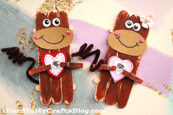 Christmas Tree Crafts For Kids X further Monkey Pudding Cup likewise Crochet Sock Monkey Flower Knitted Hat Baby additionally Popsicle Stick Valentine Monkey Kid Craft in addition Bc A Df F Ab Bb Habitats Children Books. on monkey clothespin craft