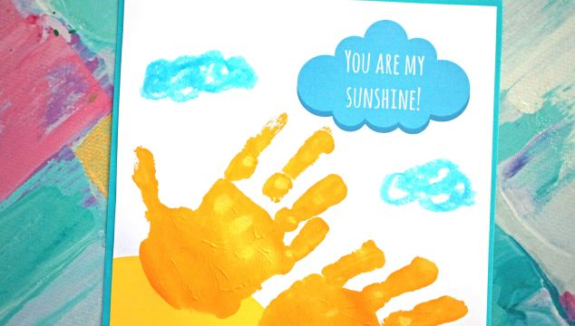 Free Keepsake Printable - You Are My Sunshine