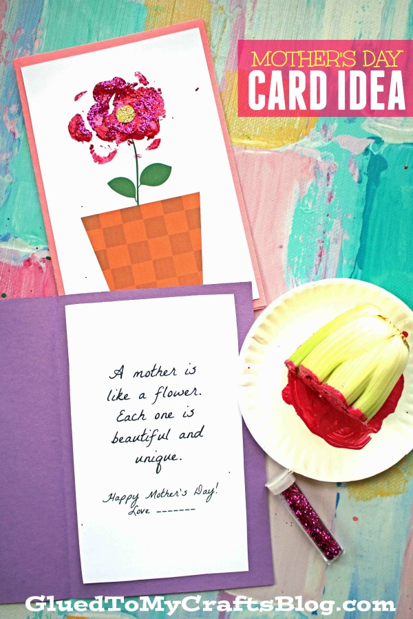 photo relating to Free Printable Mothers Day Crafts titled Moms Working day Craft Programs