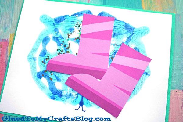 Paint Splat Rain Puddle - Kid Craft