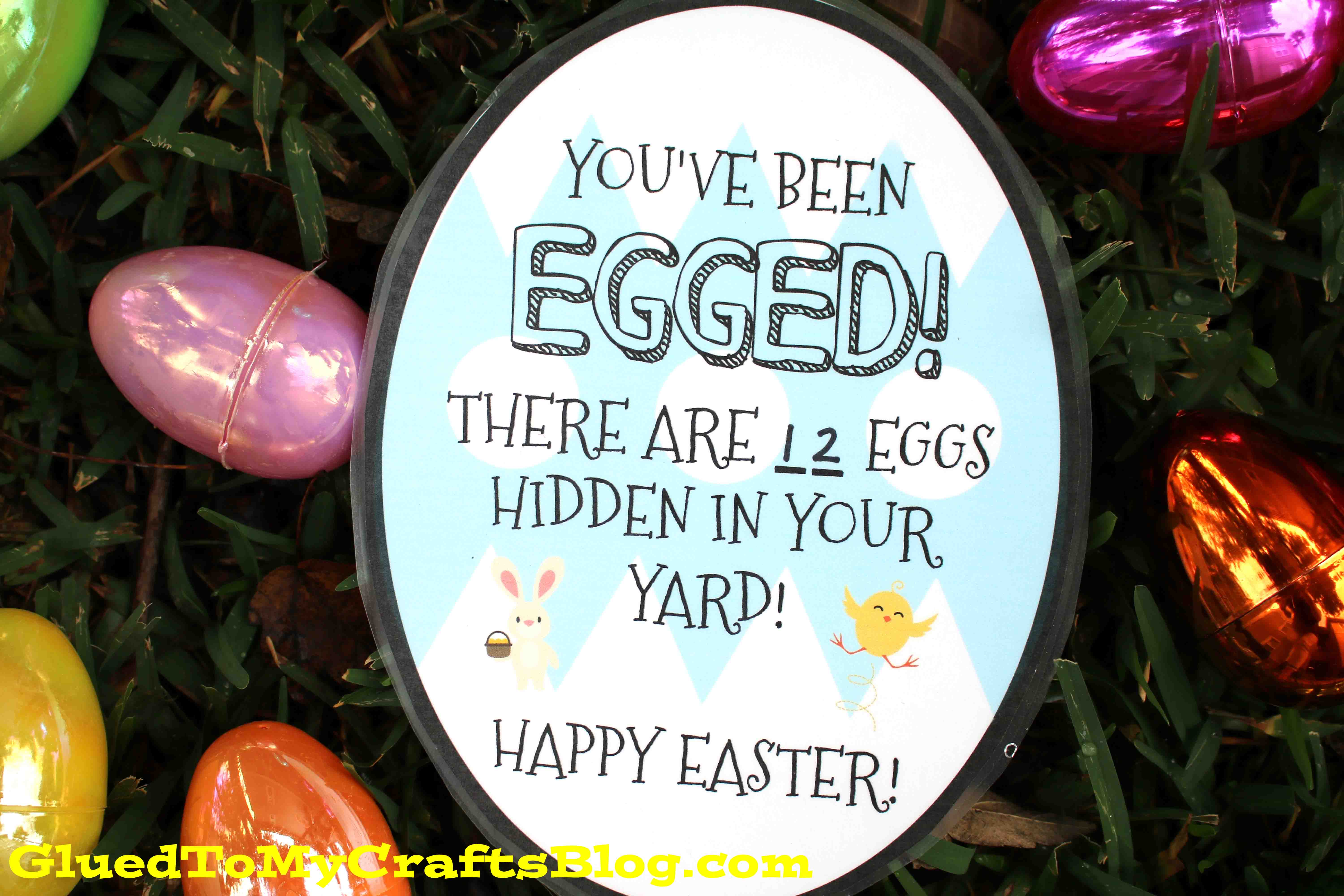 image regarding You've Been Egged Printable named Youve Been EGGED! Pleasurable Easter Present Concept