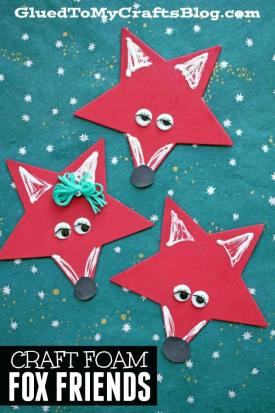 Craft Foam Star Fox Friends - Kid Craft