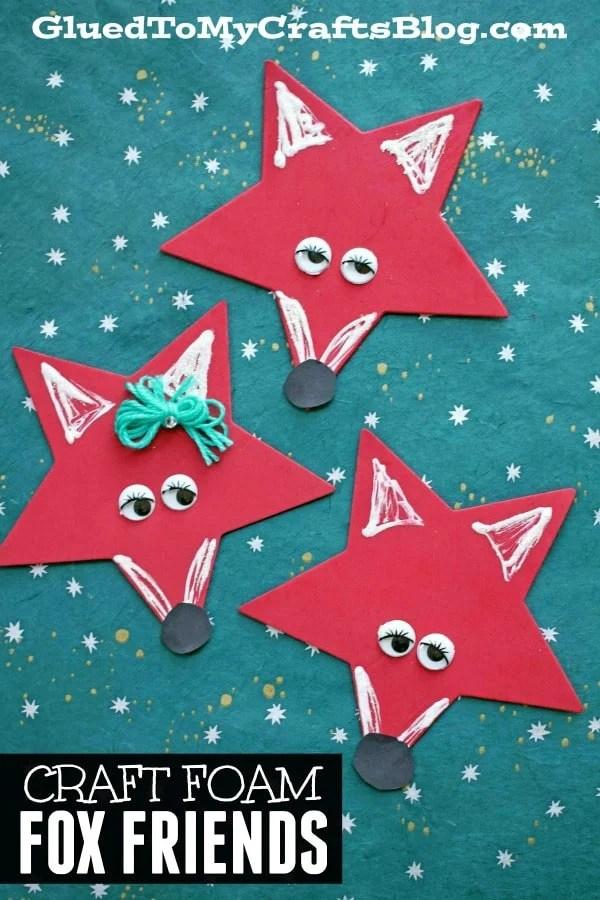 Craft Foam Star Fox Friends - Kid Craft
