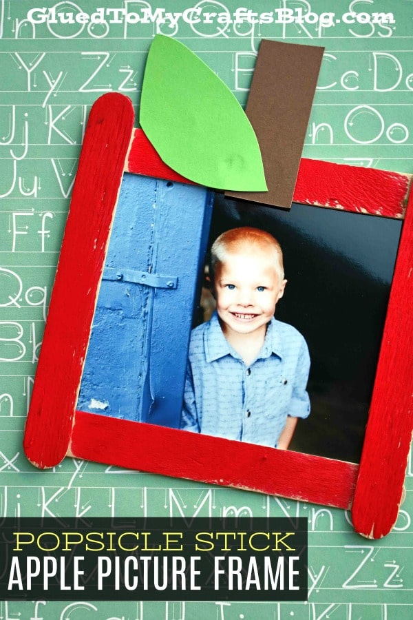 Back To School Picture Frame For Kids To Make