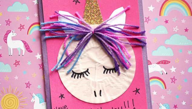 Paper Cupcake Liner Unicorn - Kid Craft