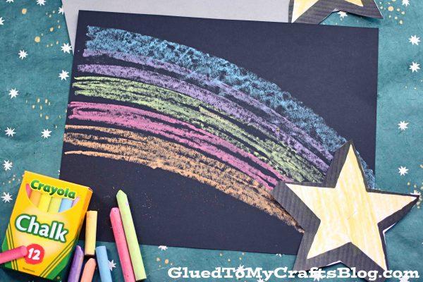 Chalk Art Shooting Star - Kid Craft