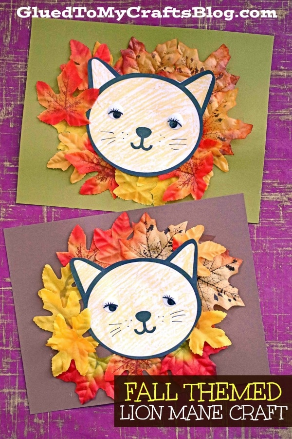Leaf Lion Mane - Kid Craft