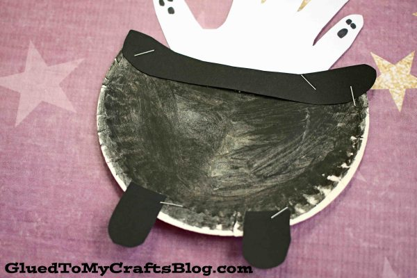 Paper Plate Witch Cauldron - Kid Craft