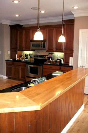 Wood Countertops Reviews with pros and cons by Grothouse ... on Maple Countertops id=46891