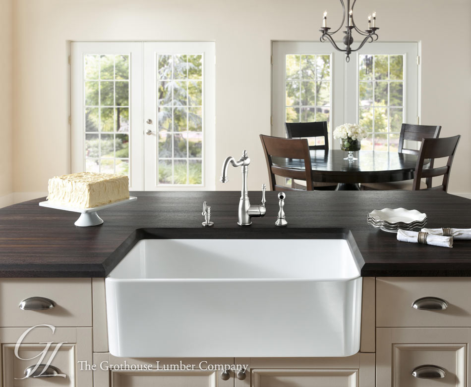 Wenge Wood Countertop in Philadelphia, Pennsylvania on Farmhouse Counter Tops  id=43640