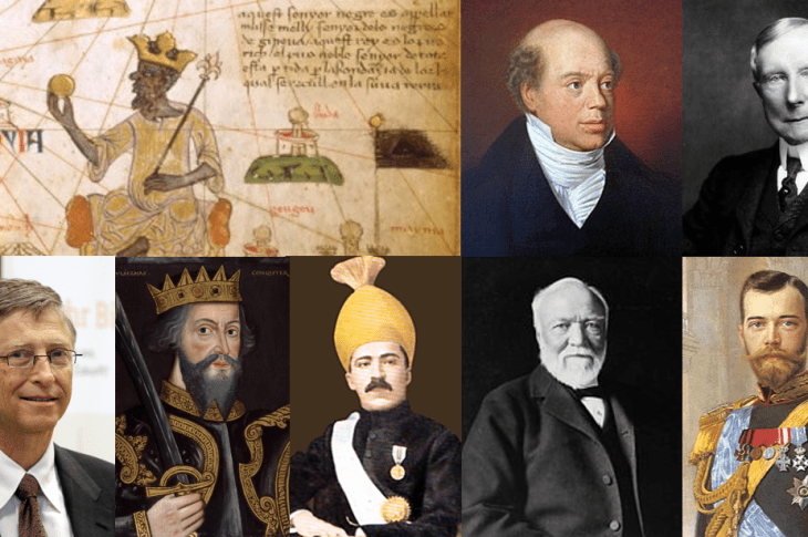 The 10 richest men of all time