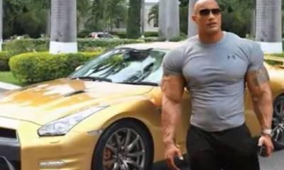 Dwayne Johnson Cars