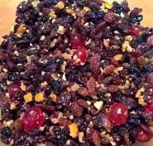 Brandy Soaked Fruit