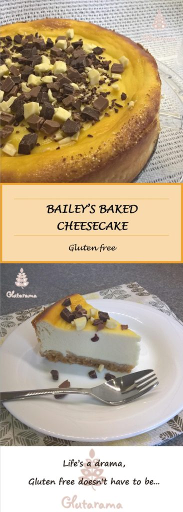 Baileys Cheesecake - gluten free