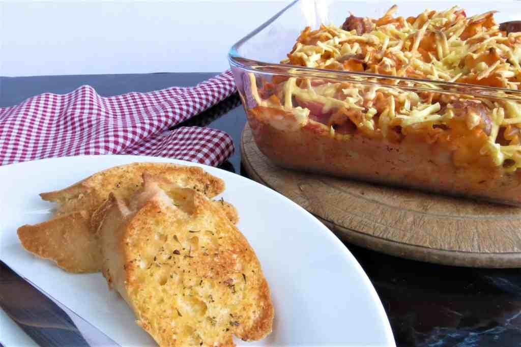 Sausage Pasta Bake; gluten and dairy free 5