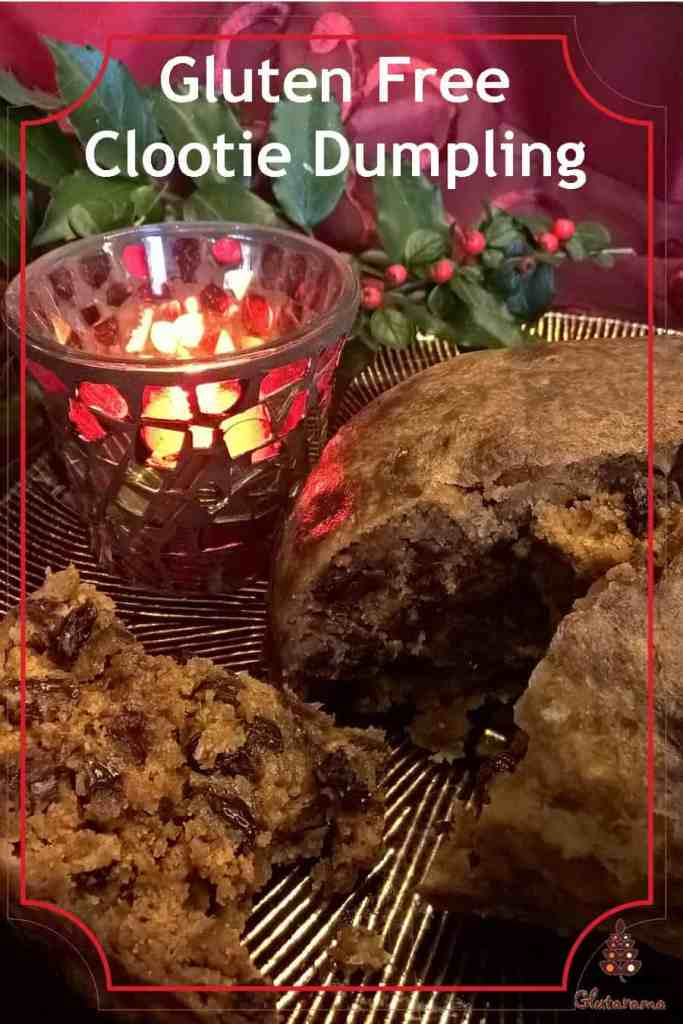 Clootie Dumpling; traditional Scottish pudding to make around Burns Night and Christmas, made gluten free #Christmas #Pudding #Clootie #Traditional #Freefrom