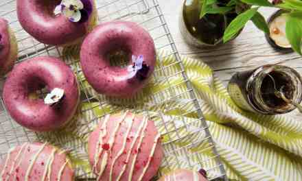 Baked Doughnuts two ways: dairy and gluten free