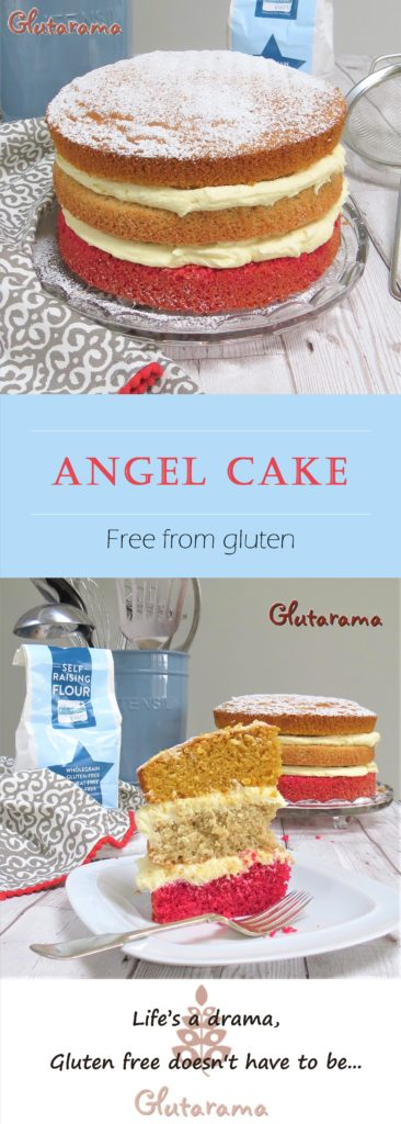 Angel Cake; a stunning old traditional family favourite made #glutenfree and easily made #dairyfree too if you wish