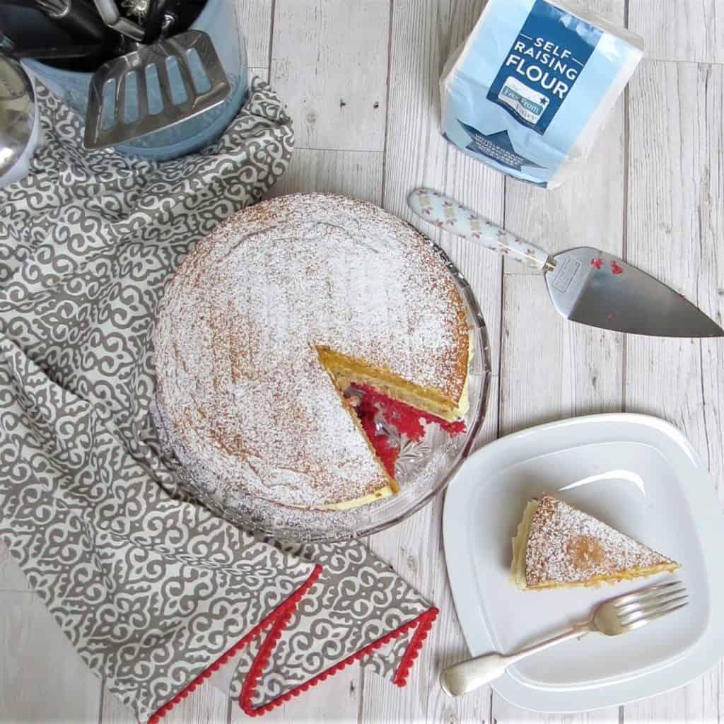 Gluten Free Angel Cake by Glutarama
