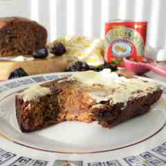Gluten Free Homemade Malt Loaf, made with my malt substitute paste