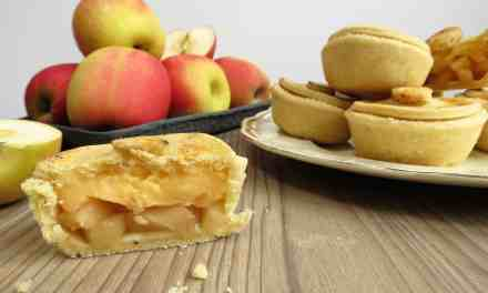 Apple Custard Pies; gluten and dairy free