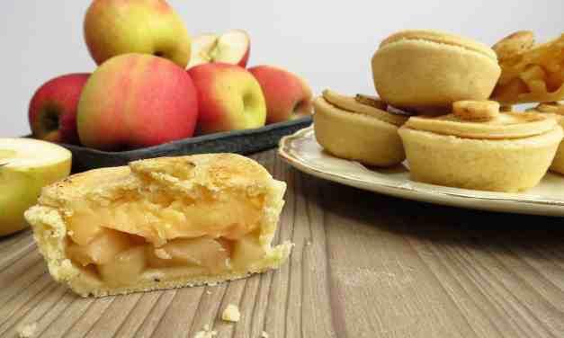 Apple Custard Pies; gluten and dairy free