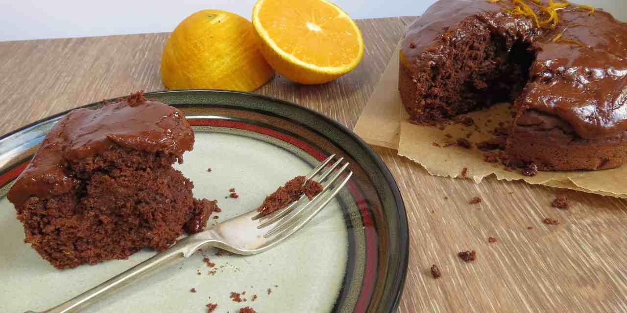 Chocolate Orange Cake; moist, delicious, gluten free and vegan