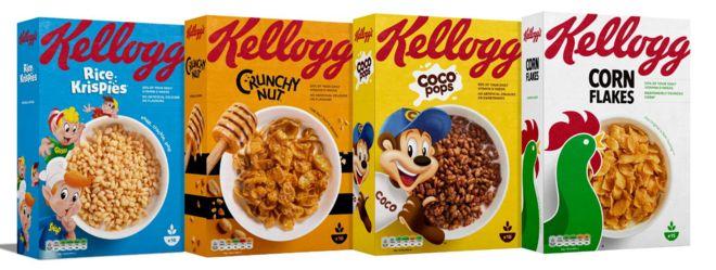 Kelloggs Cereals - not gluten free