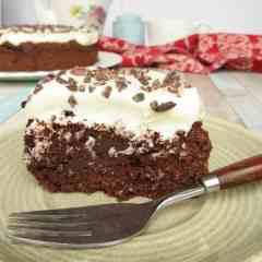 Chocolate Beetroot Brownie Cake
