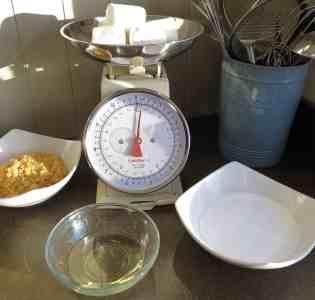 Mini Christmas Cakes – nut free marzipan 1