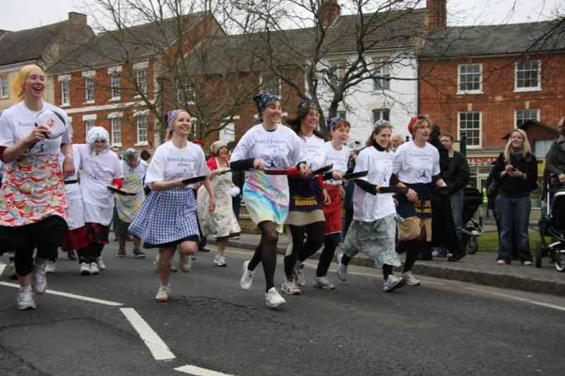 Olney Pancake Day Race - collection of free from pancake recipes