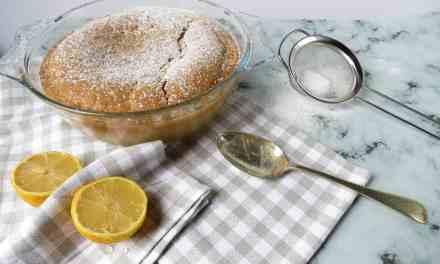 Gluten Free Self Saucing Lemon Pudding