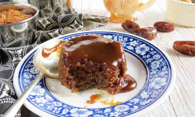 Sticky Date and Toffee Pudding; gluten free and dairy free