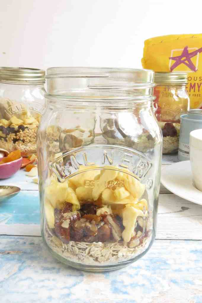 Hot Porridge Jars - Delicious Alchemy