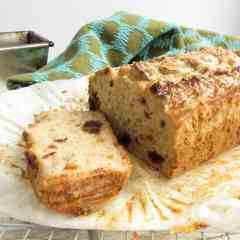 Gluten Free and Vegan Banana and Date Loaf - easy to make