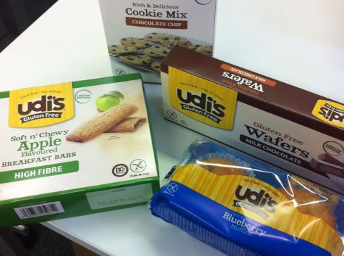 Udi's new gluten free products