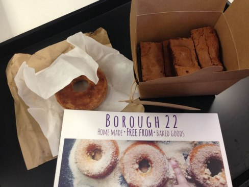 gluten free brownies and doughnuts