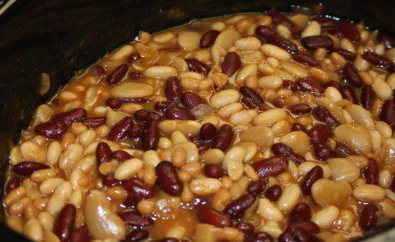 Finished Calico Beans