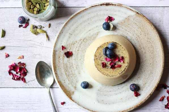 Free From Panna Cotta with Cardamom & Treacle from Proper Foodie.