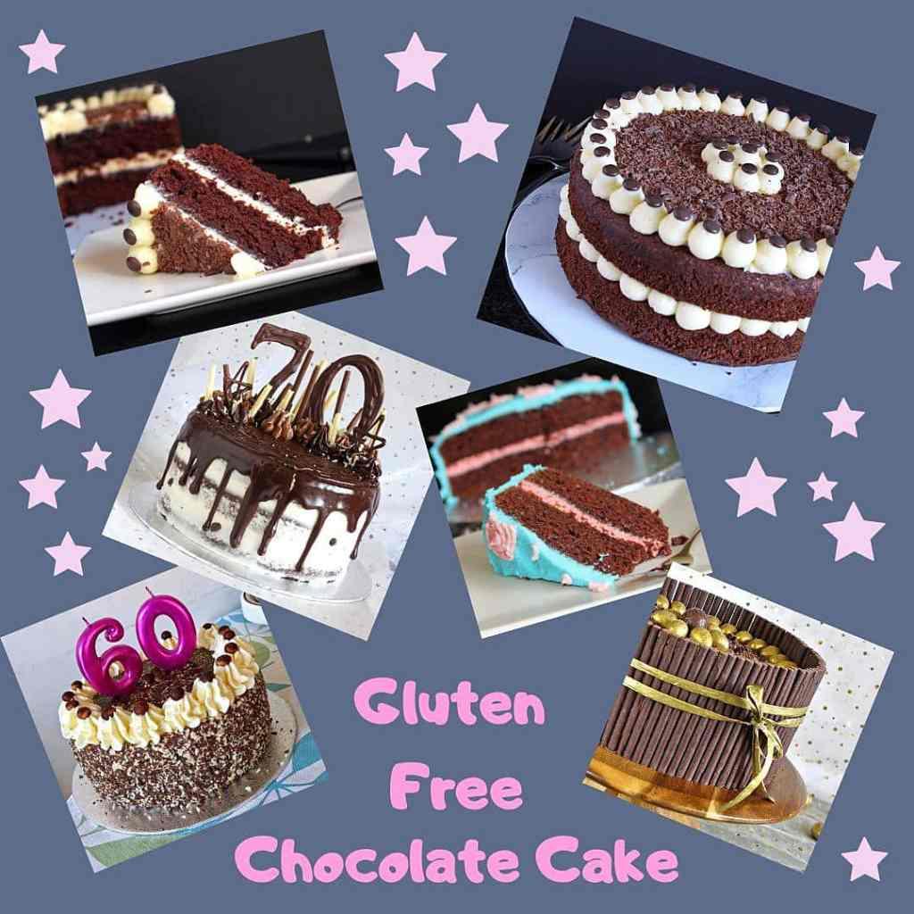 gluten-free-chocolate-cake-montage