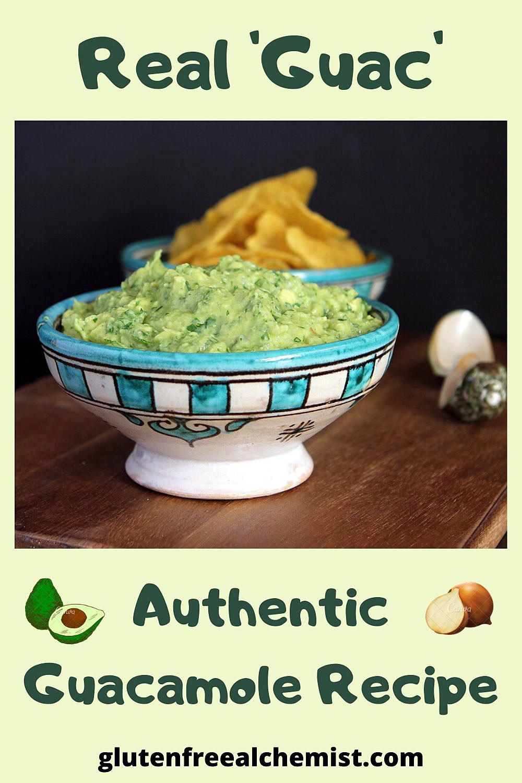 Real \'Guac\' - An Authentic (no Tomato) Guacamole Recipe