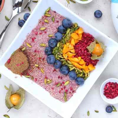 Quinoa Rainbow Breakfast Bowl