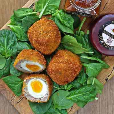 Scotch Eggs – A Homemade Recipe with Gluten Free Breadcrumbs